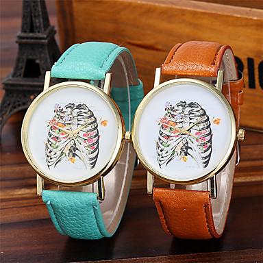 pentru Doamne Ceas La Modă Ceas de Mână Unic Creative ceas Ceas Casual Chineză Quartz / Plin de Culoare Piele Bandă Sclipici Cool Casual