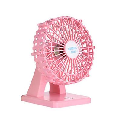 Yeni usb şarj cihazı mini fan mutlu dönme dolap masaüstü küçük fan hayranı fan gülümseme sessiz