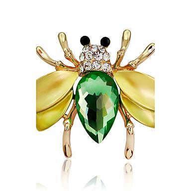 Dame Fete Broșe Design Animal La modă Personalizat Euramerican Ștras Aliaj Animal Shape Bijuterii PentruNuntă Petrecere Ocazie specială
