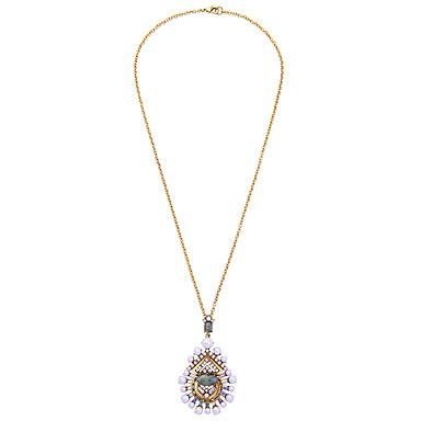 Damskie Naszyjniki z wisiorkami Kropla Osobiste Słodkie Style Rainbow Biżuteria Na 1szt