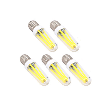 5 Stück 4W 300 lm E14 G9 LED Glühlampen T Leds Abblendbar Warmes Weiß Kühles Weiß Wechselstrom 220-240V