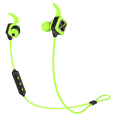 Bluetooth oortelefoon draadloze sport hoofdtelefoon bas stereo oordopjes met oorhaak mic voice prompt handsfree geluidsreductie
