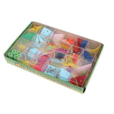 Doolhof & Volgordepuzzels 3D-doolhof puzzeldoos Speeltjes Vierkant ABS Metaal 12 Stuks Unisex Geschenk