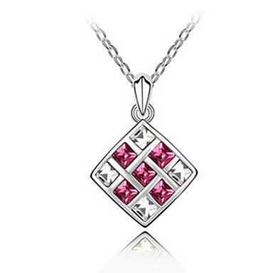 Damskie Naszyjniki z wisiorkami Biżuteria Biżuteria Syntetyczne kamienie szlachetne Stop Unikalny Słodkie Style Biżuteria Na Impreza