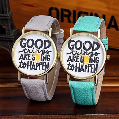 Pentru femei Ceas La Modă Ceas de Mână Unic Creative ceas Ceas Casual Chineză Quartz / Plin de Culoare Piele Bandă Sclipici Casual Cool