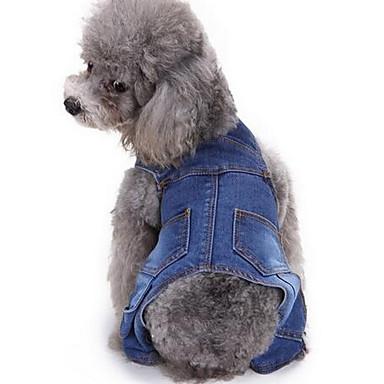 Koira Pants Koiran vaatteet Sievä Muoti Raita Sininen