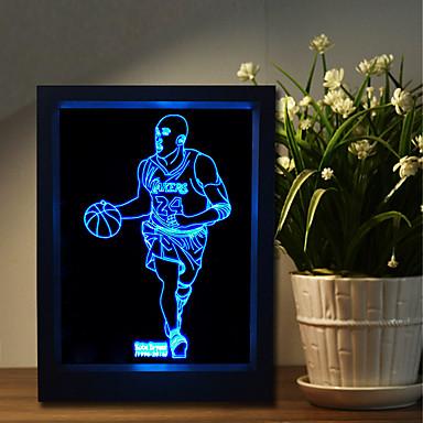 Gece Lambası LED Masa Lambaları-2W-USB Kısılabilir Renk Değiştiren korna ile - Kısılabilir Renk Değiştiren korna ile