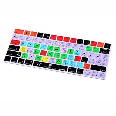 Xskn® lightroom cc snelkoppeling siliconen toetsenbord huid voor magische toetsenbord 2015 versie (ons / eu lay-out)