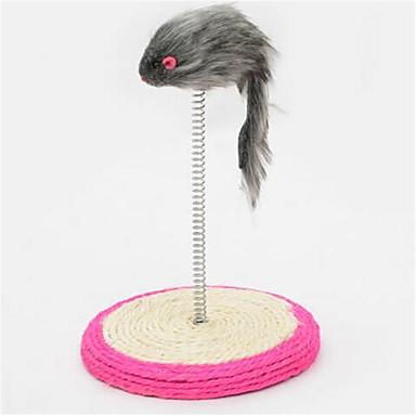Pisici Jucărie Pisică Jucării Animale Jucărie Șoarece Scratch Pad Sisal Pentru animale de companie