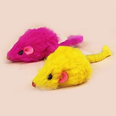 Minik Kedi Oyuncakları Kediler İçin Kilitli Oyuncaklar Mouse Tekstil Uyumluluk Kedi Kedi Yavrusu