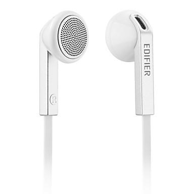 Edifier h190 mobiele oortelefoon voor computer in-ear bekleed plastic 3,5mm geluid-annulering
