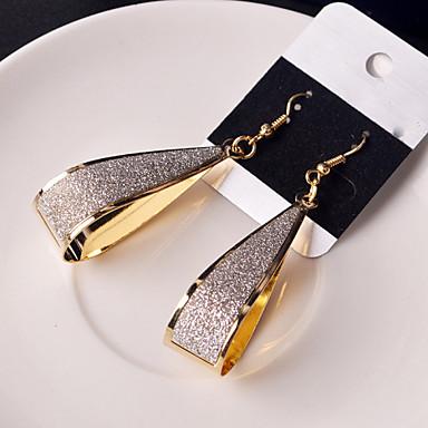 Druppel oorbellen Legering Zwart Zilver Gouden Sieraden Voor Bruiloft Feest Dagelijks Causaal 2 stuks