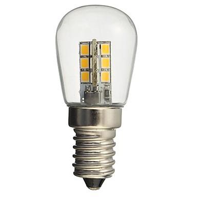 HKV 1PC 1W 50-99 lm E14 مصابيح كروية LED 24 الأضواء SMD 2835 ديكور أبيض دافئ أبيض AC110 AC220