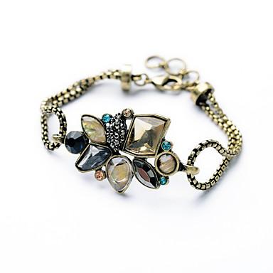 Pentru femei Brățări cu Lanț & Legături Bijuterii Vintage Aliaj Flower Shape Curcubeu Bijuterii PentruOcazie specială Zi de Naștere