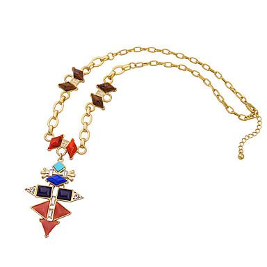 Kadın's Uçlu Kolyeler Kristal Eşsiz Tasarım Kişiselleştirilmiş Euramerican Gökküşağı Mücevher Için Düğün Parti 1pc