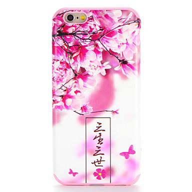 hoesje Voor Apple iPhone 7 Plus iPhone 7 Patroon Achterkant Woord / tekst Bloem Zacht TPU voor iPhone 7 Plus iPhone 7 iPhone 6s Plus