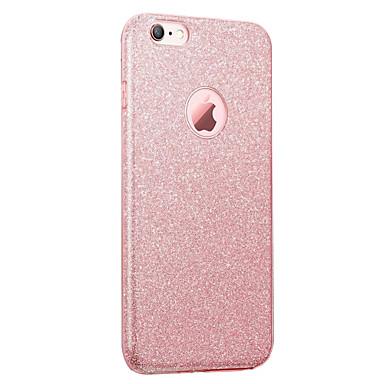 Voor iPhone 8 iPhone 8 Plus Hoesje cover IMD Achterkantje hoesje Glitterglans Zacht TPU voor Apple iPhone 7s Plus iPhone 8 iPhone 7 Plus