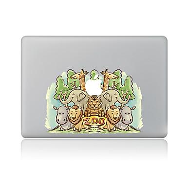 1 قطعة مقاومة الحك حيوان بلاستيك شفاف لاصق الجسم نموذج إلىMacBook Pro 15'' with Retina MacBook Pro 15'' MacBook Pro 13'' with Retina