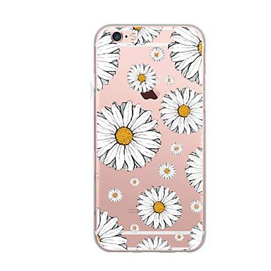 hoesje Voor Apple Ultradun Patroon Achterkantje Bloem Zacht TPU voor iPhone 7 Plus iPhone 7 iPhone 6s Plus iPhone 6 Plus iPhone 6s iPhone