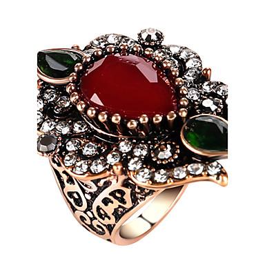 Inele Afirmatoare Inel Design Unic La modă Vintage Personalizat Euramerican bijuterii de lux Bijuterii Statement Hârtie Reciclabilă Aliaj