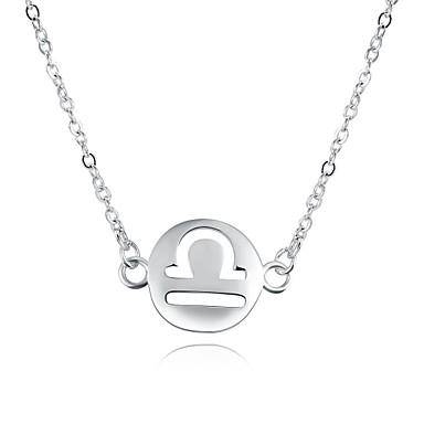 Damen Kreisform Personalisiert Kreisförmiges Geometrisch Einzigartiges Design Anhänger Stil Tier Design Klassisch Retro Böhmische