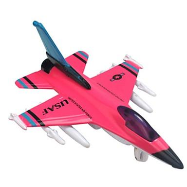سيارات السحب الطائرات ألعاب طيارة المقاتل بلاستيك قطع للجنسين هدية