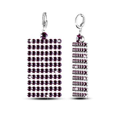 Bărbați Pentru femei Cercei Set Adorabil Euramerican stil minimalist Clasic Elegant La modă Argilă Square Shape Bijuterii PentruNuntă