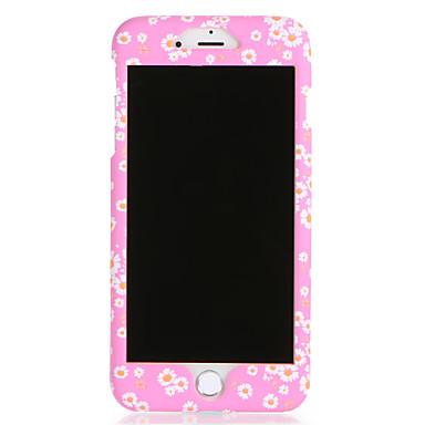 Für Apfel iphone 7 7plus Fallabdeckungsmuster volle Körperkastenblume harter PC 6s plus 6 plus 6s 6