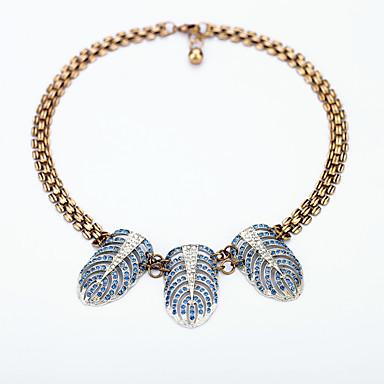 Γυναικεία Κολιέ Δήλωση Φτερά / Φτερό Μοναδικό Εξατομικευόμενο Κοσμήματα Για Causal