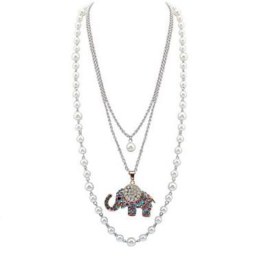 Damskie Zwierzę Spersonalizowane Kwiatowy Biżuteria religijna Zwierzęta Klasyczny Vintage Podstawowy Seksowny Cyrkonie Natura Przyjaźń
