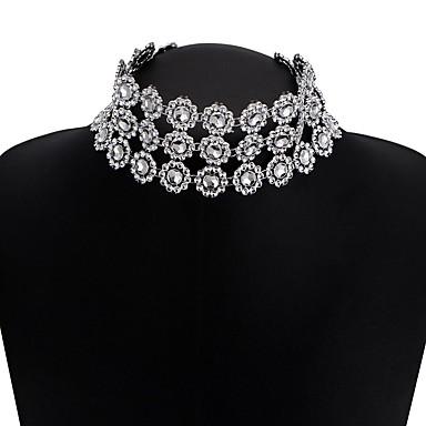 Damen Stern Einzigartiges Design Bikini Halsketten Synthetischer Diamant Aleación Halsketten . Hochzeit Party Alltag Normal