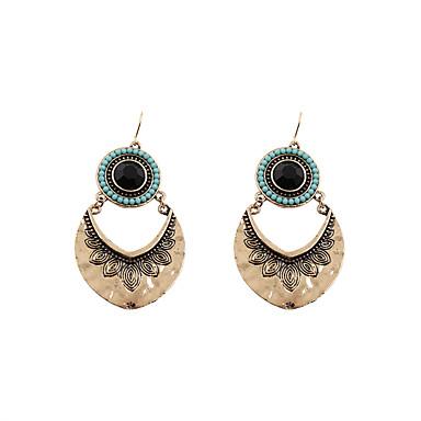 Pentru femei Cercei Picătură Bijuterii La modă Vintage Personalizat Euramerican Turcă Aliaj Geometric Shape Bijuterii Pentru Nuntă