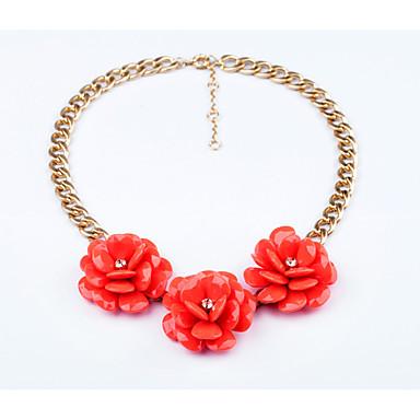 Γυναικεία Σκέλη Κολιέ Flower Shape Εξατομικευόμενο κοσμήματα πολυτελείας Κοσμήματα Για Γάμου