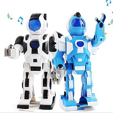 أرسي روبوت إلكترونيات الاطفال التعلم والتعليم الروبوتات المنزلية والشخصية AM بلاستيك الغناء الرقص المشي موازنة الذاتي الذكية القفز لا