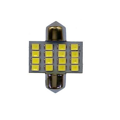 Festoon سيارة لمبات الضوء W SMD LED 65lm lm LED أضواء الداخلية