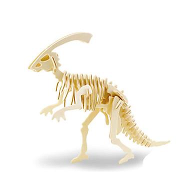 Puzzle 3D Jucarii Dinosaur Lemn Unisex Bucăți
