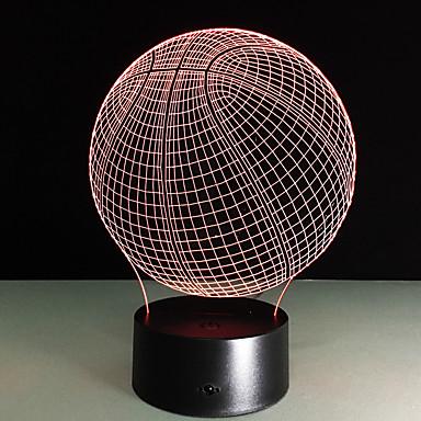 1 Stück Nächtliche Beleuchtung Fernbedienungskontrolle Nachtsicht Größe S Farbwechsel Künstlerisch LED Modern/Zeitgenössisch