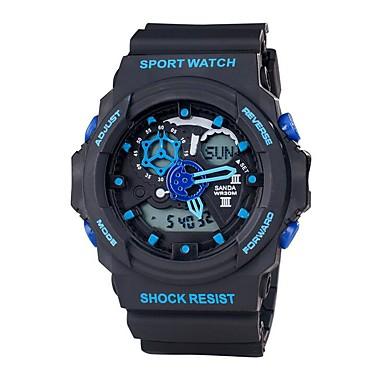 Bărbați Ceas Sport Ceas Militar Ceas Smart Ceas La Modă Ceas de Mână Japoneză Piloane de Menținut CarneaLED Zone Duale de Timp Digipas