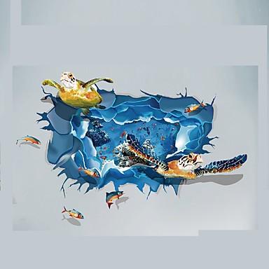Eläimet Piirretty 3D Wall Tarrat Lentokone-seinätarrat 3D-seinätarrat Koriste-seinätarrat Häätarrat,Paperi Vinyyli materiaali