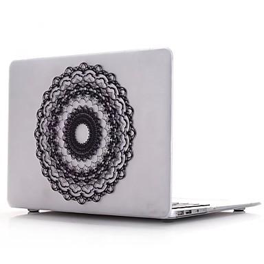 MacBook Kılıf için Çiçek PVC Yeni MacBook Pro 15