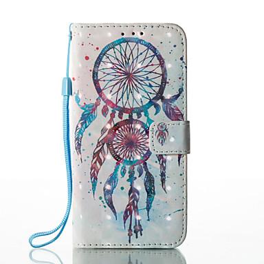 Etui Käyttötarkoitus Samsung Galaxy S8 Plus S8 Korttikotelo Lomapkko Tuella Flip Kuvio Suojakuori Uni sieppari Kova PU-nahka varten S8