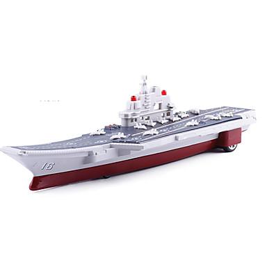 Jucării pentru mașini Vehicul cu Tragere Vehicul de Fermă Portavion Jucarii Simulare Portavion Mașină Navă Aliaj Metalic Bucăți Unisex