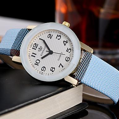 Dames Unieke creatieve horloge Vrijetijdshorloge Modieus horloge Polshorloge Kwarts Leer Band Amulet Luxe Creatief Informeel Elegant Cool