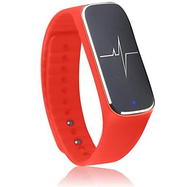 أسورة ذكية إسبات الطويل عداد الخطى رياضات رصد معدل ضربات القلب الشاشات التي تعمل باللمس أصفر فاتح متتبع النشاط متتبع النوم بلوتوث 4.0لا