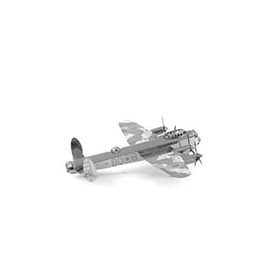 3D-puzzels Modelbouwsets Vliegtuig Plezier Roestvast staal Klassiek