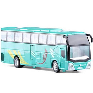Terugtrekvoertuigen Boerderijvoertuig Speeltjes Automatisch Bus Metaallegering Stuks Unisex Geschenk