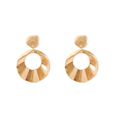 Damen Tropfen-Ohrringe Schmuck Luxus Geometrisch Seitwärts Dehnbar Simple Style Aleación Geometrische Form Schmuck Party Geburtstag