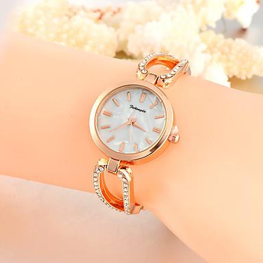 Dames Kwarts Unieke creatieve horloge Polshorloge Vrijetijdshorloge Legering Band Amulet Luxe Creatief Informeel Elegant Modieus Cool