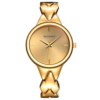 Pentru femei Ceas de Mână Ceas Brățară Quartz cald Vânzare Aliaj Bandă Charm Argint Auriu Roz auriu