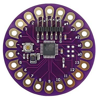 Lilypad atmega328p draagbare ontwikkelingsbord voor arduino